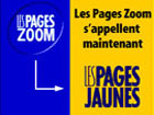 Les Pages Zoom s´appellent maintenant Les Pages Jaunes