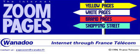 Zoom Pages including Yellow Pages & White Pages